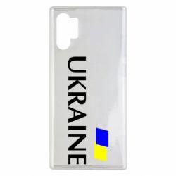 Чехол для Samsung Note 10 Plus UKRAINE FLAG