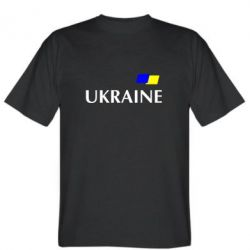 Мужская футболка UKRAINE FLAG - FatLine