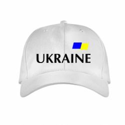 Детская кепка UKRAINE FLAG - FatLine