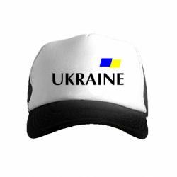 Дитяча кепка-тракер FLAG UKRAINE