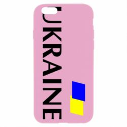 Чехол для iPhone 6/6S UKRAINE FLAG
