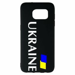 Чехол для Samsung S7 EDGE UKRAINE FLAG
