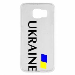 Чехол для Samsung S6 UKRAINE FLAG