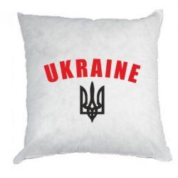 Подушка Ukraine + герб - FatLine
