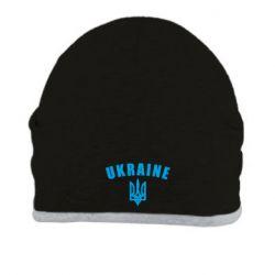 Шапка Ukraine + герб - FatLine