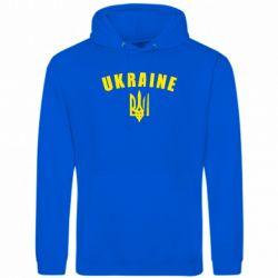 Толстовка Ukraine + герб - FatLine