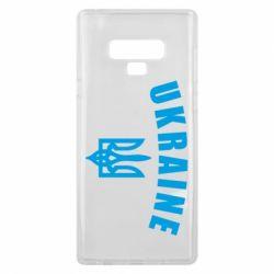 Чохол для Samsung Note 9 Ukraine + герб