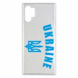 Чохол для Samsung Note 10 Plus Ukraine + герб