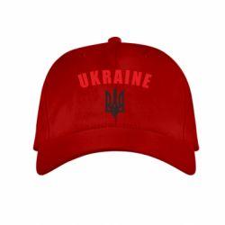 Детская кепка Ukraine + герб - FatLine