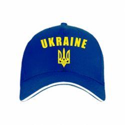кепка Ukraine + герб - FatLine