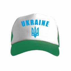 Дитяча кепка-тракер Ukraine + герб