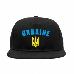 Снепбек Ukraine + герб - FatLine