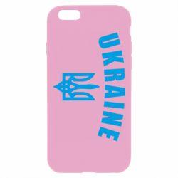 Чохол для iPhone 6 Plus/6S Plus Ukraine + герб
