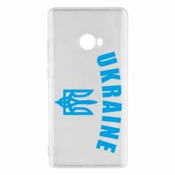 Чохол для Xiaomi Mi Note 2 Ukraine + герб