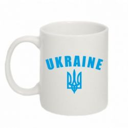 Кружка 320ml Ukraine + герб - FatLine