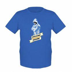 Детская футболка Ukraine Hooligans - FatLine