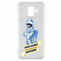 Чохол для Samsung A6 2018 Ukraine Hooligans