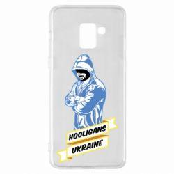 Чохол для Samsung A8+ 2018 Ukraine Hooligans