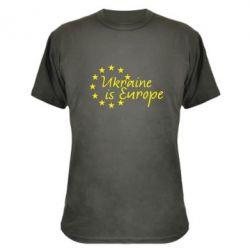 Камуфляжная футболка Ukraine in Europe - FatLine