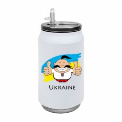 Термобанка 350ml Ukraine kozak
