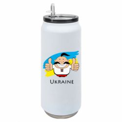 Термобанка 500ml Ukraine kozak