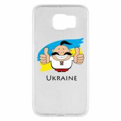 Чехол для Samsung S6 Ukraine kozak