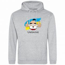 Толстовка Ukraine kozak - FatLine