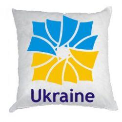 Подушка Ukraine квадратний прапор - FatLine