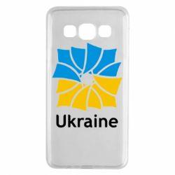 Чехол для Samsung A3 2015 Ukraine квадратний прапор - FatLine