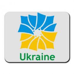 Коврик для мыши Ukraine квадратний прапор - FatLine