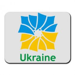 Коврик для мыши Ukraine квадратний прапор