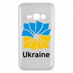 Чехол для Samsung J1 2016 Ukraine квадратний прапор
