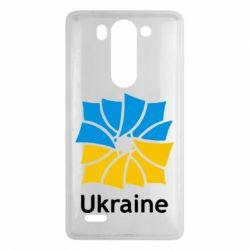 Чехол для LG G3 mini/G3s Ukraine квадратний прапор - FatLine