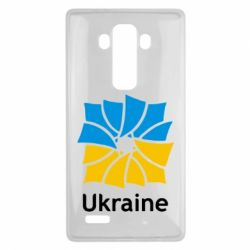 Чехол для LG G4 Ukraine квадратний прапор - FatLine