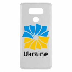 Чехол для LG G6 Ukraine квадратний прапор - FatLine