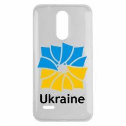 Чехол для LG K7 2017 Ukraine квадратний прапор - FatLine