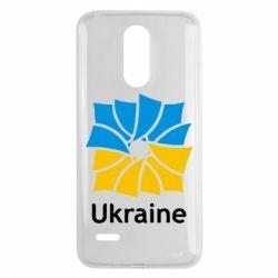 Чехол для LG K8 2017 Ukraine квадратний прапор - FatLine