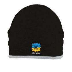 Шапка Ukraine квадратний прапор - FatLine