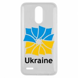 Чехол для LG K10 2017 Ukraine квадратний прапор - FatLine