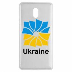 Чехол для Nokia 3 Ukraine квадратний прапор - FatLine