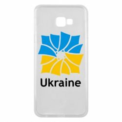Чехол для Samsung J4 Plus 2018 Ukraine квадратний прапор - FatLine