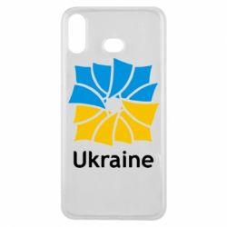 Чехол для Samsung A6s Ukraine квадратний прапор