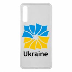 Чехол для Samsung A7 2018 Ukraine квадратний прапор