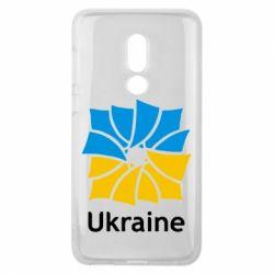 Чехол для Meizu V8 Ukraine квадратний прапор - FatLine