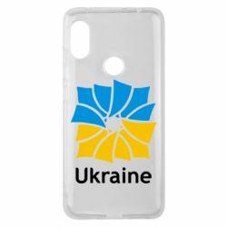 Чехол для Xiaomi Redmi Note 6 Pro Ukraine квадратний прапор - FatLine
