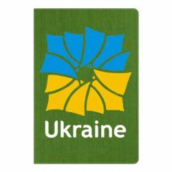 Блокнот А5 Ukraine квадратний прапор