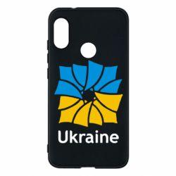 Чехол для Mi A2 Lite Ukraine квадратний прапор - FatLine