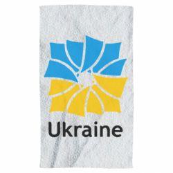 Полотенце Ukraine квадратний прапор