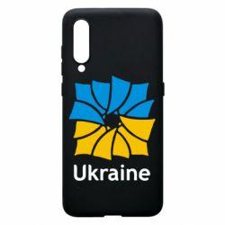 Чехол для Xiaomi Mi9 Ukraine квадратний прапор
