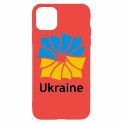Чохол для iPhone 11 Pro Ukraine квадратний прапор